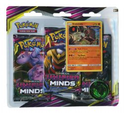 POKEMON SUN AND MOON -  UNIFIED MINDS - STAKATA BLISTER PACK (3P10)