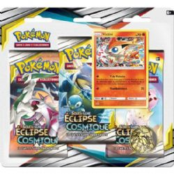 POKEMON SUN AND MOON -  VICTINI BLISTER PACK (3P10) (FRENCH) -  ECLIPSE COSMIQUE