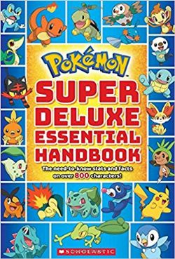 POKEMON -  SUPER DELUXE ESSENTIAL HANDBOOK