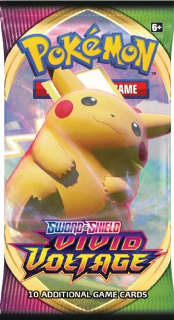 POKEMON SWORD AND SHIELD -  BOOSTER PACK (ENGLISH) (P10/B36/C6) -  VIVID VOLTAGE