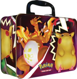 POKEMON SWORD AND SHIELD -  POKEMON COLLECTOR CHEST TIN FALL 2020 (5 PACKS + 3 CARDS + ACCESSORIES)