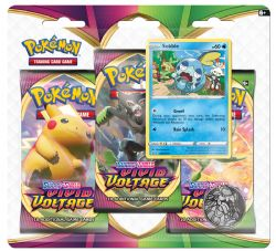POKEMON SWORD AND SHIELD -  SOBBLE BLISTER PACK (ENGLISH) (3P10) -  VIVID VOLTAGE