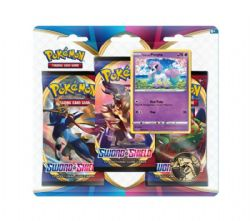 POKEMON SWORD AND SHIELD -  SWORD AND SHIELD - PONYTA BLISTER PACK (3P10)