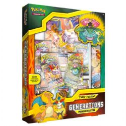 POKEMON -  TAG TEAM GENERATIONS PREMIUM COLLECTION (7 PACKS + ACCESSORIES) -  PALE MOON-GX