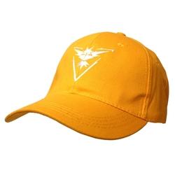 POKEMON -  TEAM INSTINCT ADJUSTABLE  CAP - YELLOW & WHITE -  POKEMON GO