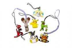 POKEMON -  VARIOUS CELL PHONE STRAP