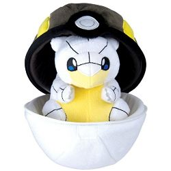 POKEMON -  ZIPPER ULTRA BALL WITH ALOLAN SANDSHREW PLUSH (10