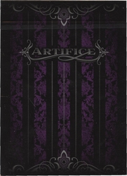 POKER SIZE PLAYING CARDS -  ARTIFICE - PURPLE (REGULAR INDEX) -  ELLUSIONIST