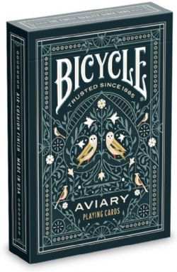 POKER SIZE PLAYING CARDS -  BICYCLE - AVIARY