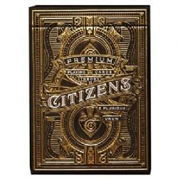 POKER SIZE PLAYING CARDS -  BICYCLE CITIZEN
