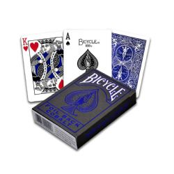 POKER SIZE PLAYING CARDS -  BICYCLE - COBALT VERSION 2 BLUE