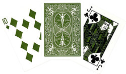 POKER SIZE PLAYING CARDS -  BICYCLE - ECO EDITION