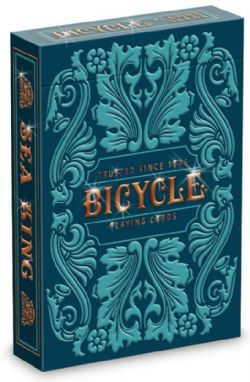 POKER SIZE PLAYING CARDS -  BICYCLE - SEA KING