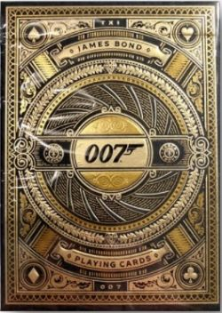 POKER SIZE PLAYING CARDS -  BICYCLE - THEORY-11 JAMES BOND 007!
