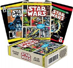 POKER SIZE PLAYING CARDS -  COMIC -  STAR WARS