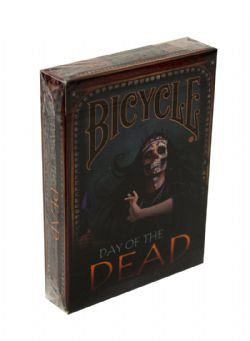 POKER SIZE PLAYING CARDS -  DAY OF THE DEAD (REGULAR INDEX)