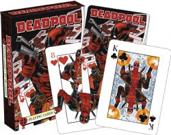 POKER SIZE PLAYING CARDS -  DEADPOOL MIRROR