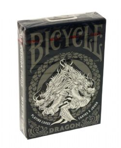 POKER SIZE PLAYING CARDS -  DRAGON (REGULAR INDEX)