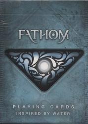 POKER SIZE PLAYING CARDS -  FATHOM 2 (REGULAR INDEX) -  ELLUSIONIST