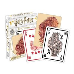 POKER SIZE PLAYING CARDS -  GRYFFINDOR -  HARRY POTTER