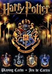 POKER SIZE PLAYING CARDS -  HOGWARTS FOUR HOUSES