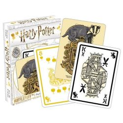 POKER SIZE PLAYING CARDS -  HUFFLEPUFF -  HARRY POTTER