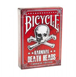 POKER SIZE PLAYING CARDS -  KARNIVAL ASSASSINS RED