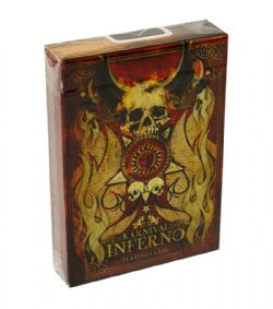POKER SIZE PLAYING CARDS -  KARNIVAL INFERNO