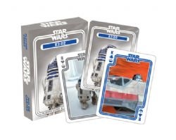 POKER SIZE PLAYING CARDS -  R2-D2 -  STAR WARS