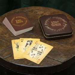 POKER SIZE PLAYING CARDS -  THE LORD OF THE RINGS