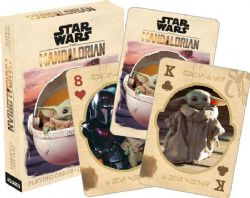 POKER SIZE PLAYING CARDS -  THE MANDALORIAN - THE CHILD -  STAR WARS