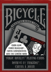 POKER SIZE PLAYING CARDS -  TRAGIC ROYALTY