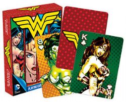 POKER SIZE PLAYING CARDS -  WONDER WOMAN