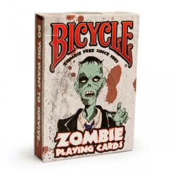 POKER SIZE PLAYING CARDS -  ZOMBIE DECK (REGULAR INDEX)