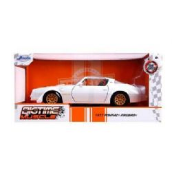 PONTIAC -  1977 FIREBIRD TRANS AM 1/24 - WHITE