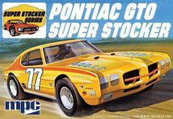 PONTIAC -  MPC 1970 PONTIAC GTO SUPER STOCKER 1:25 SCALE MODEL KIT - YELLOW