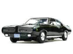 PONTIAC -  PONTIAC GTO JUDGE 1969 BLACK 1/18