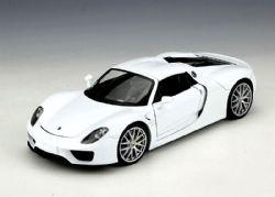 PORSCHE -  918 SPYDER 1/24 - WHITE
