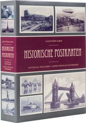 POSTCARDS -  POSTCARDS ALBUM FOR 200 HISTORICAL POSTCARDS AND PICTURES