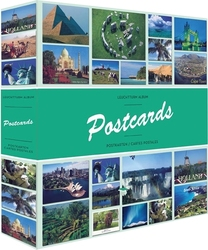 POSTCARDS -  POSTCARDS ALBUM FOR 600 POSTCARDS AND PICTURES