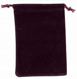 POUCH -  BIG PURPLE CLOTH BAG