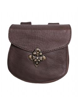 POUCHES -  LEON BELT BAG (BROWN)