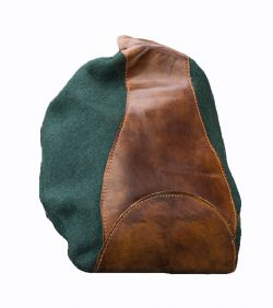 POUCHES -  MERCHANT PURSE - DARK GREEN