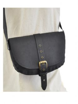 POUCHES -  POUCH - BLACK