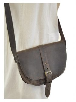 POUCHES -  POUCH - BROWN
