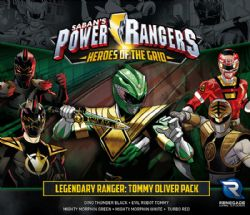 POWER RANGERS : HEROES OF THE GRID -  LEGENDARY RANGER: TOMMY OLIVER PACK (ENGLISH)