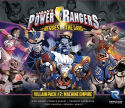 POWER RANGERS : HEROES OF THE GRID -  MACHINE EMPIRE (ENGLISH) -  VILLAIN PACK 2