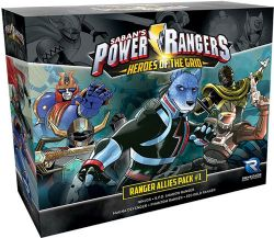 POWER RANGERS : HEROES OF THE GRID -  RANGER ALLIES PACK #1 (ENGLISH)
