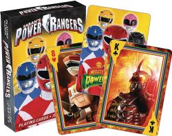 POWER RANGERS -  PLAYING CARDS
