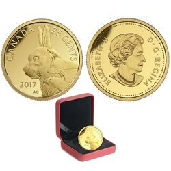 PREDATOR VS. PREY -  INUIT ARCTIC HARE -  2017 CANADIAN COINS 04